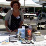 Lynda Guillemaud Kercabellec-Mesquer Salon du livre 06 08 2017