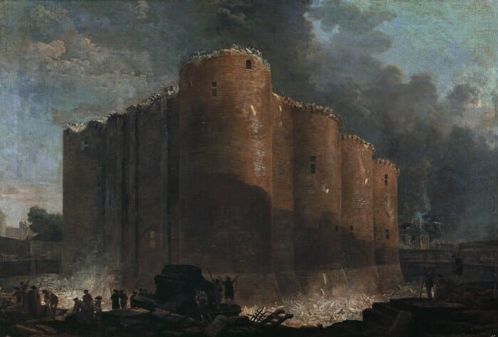 Démolition Bastille Le Sang des Lumières roman historique