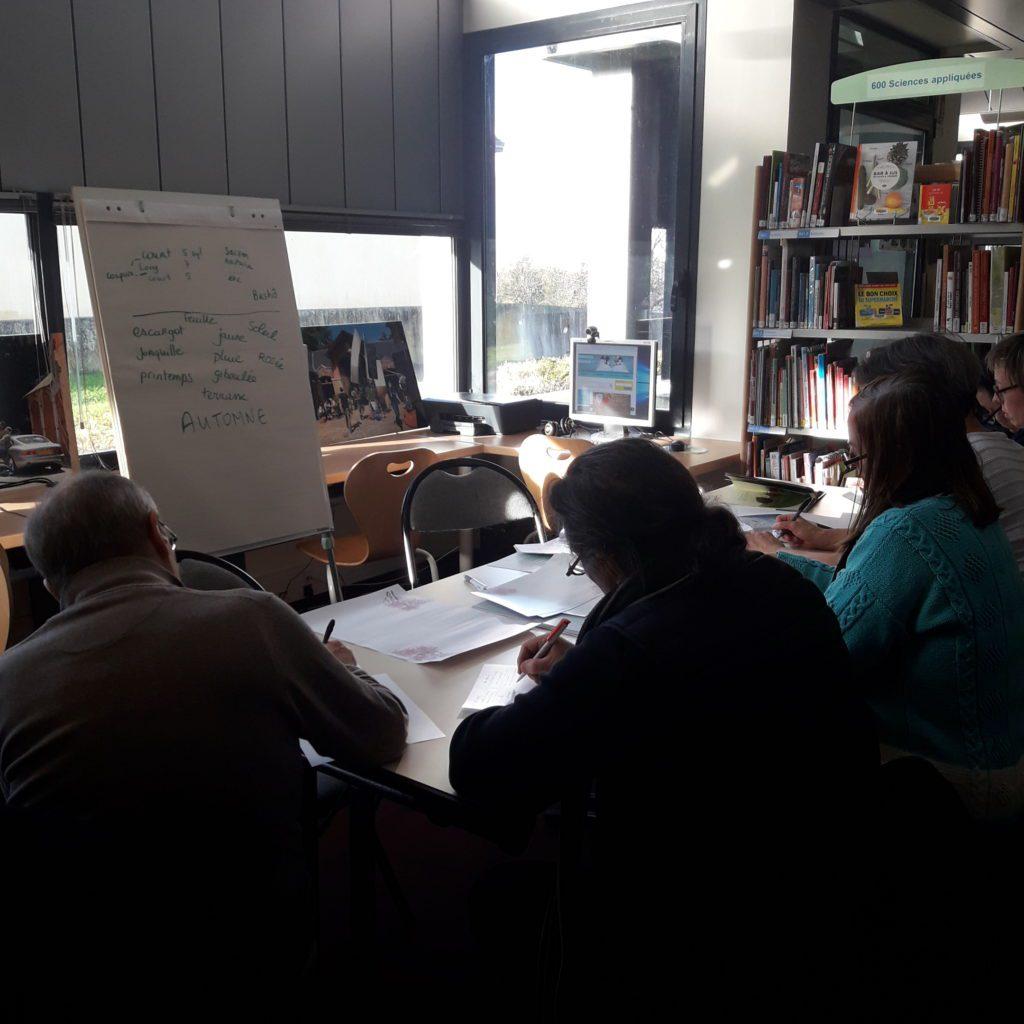 Atelier d'écriture haïku Goven Auteurs indépendants du grand ouest