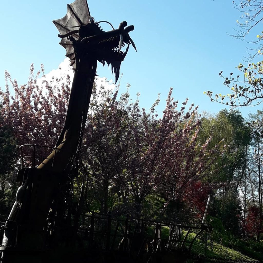 serpent dragon jardin japonais toulouse écriture lâcher prise
