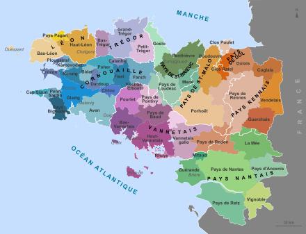 Les pays bretons au temps du duché Bretagne